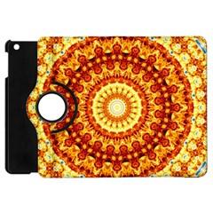 Powerful Love Mandala Apple Ipad Mini Flip 360 Case