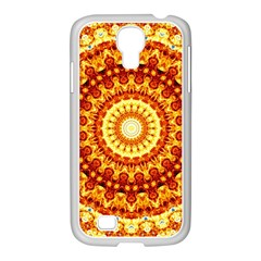 Powerful Love Mandala Samsung Galaxy S4 I9500/ I9505 Case (white)