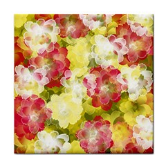 Flower Power Tile Coasters