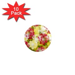 Flower Power 1  Mini Magnet (10 Pack)