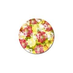 Flower Power Golf Ball Marker