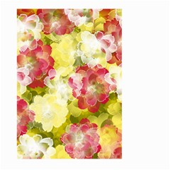 Flower Power Large Garden Flag (two Sides)