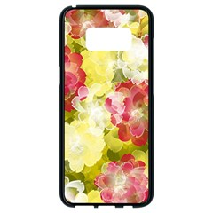 Flower Power Samsung Galaxy S8 Black Seamless Case