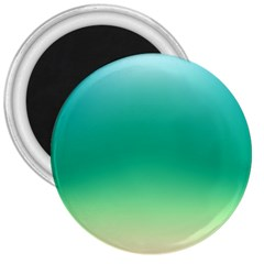 Sealife Green Gradient 3  Magnets