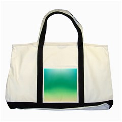 Sealife Green Gradient Two Tone Tote Bag
