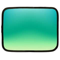 Sealife Green Gradient Netbook Case (large)
