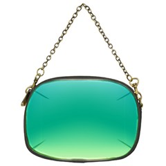 Sealife Green Gradient Chain Purses (one Side)