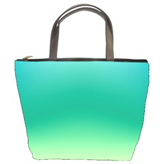 Sealife Green Gradient Bucket Bags