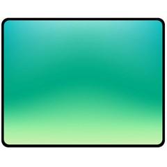 Sealife Green Gradient Fleece Blanket (medium)