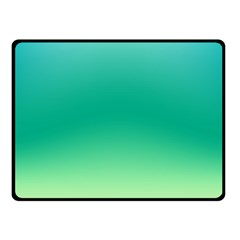 Sealife Green Gradient Fleece Blanket (small)