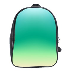 Sealife Green Gradient School Bag (xl)