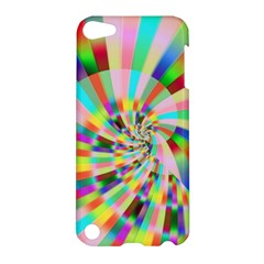 Irritation Funny Crazy Stripes Spiral Apple Ipod Touch 5 Hardshell Case