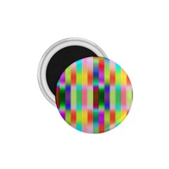 Multicolored Irritation Stripes 1 75  Magnets