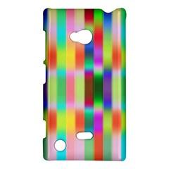 Multicolored Irritation Stripes Nokia Lumia 720