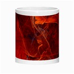 Swirly Love In Deep Red Morph Mugs Center