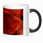 Swirly Love In Deep Red Morph Mugs Right