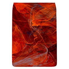 Swirly Love In Deep Red Flap Covers (s)