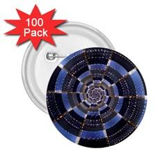 Midnight Crazy Dart 2 25  Buttons (100 Pack)