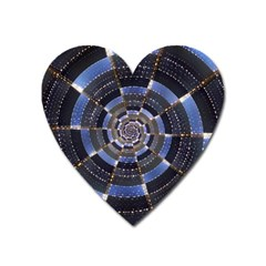 Midnight Crazy Dart Heart Magnet