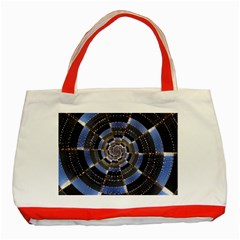Midnight Crazy Dart Classic Tote Bag (red)