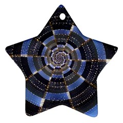 Midnight Crazy Dart Star Ornament (two Sides)