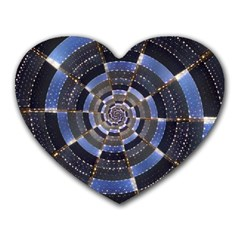 Midnight Crazy Dart Heart Mousepads