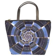 Midnight Crazy Dart Bucket Bags