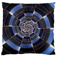 Midnight Crazy Dart Large Cushion Case (two Sides)