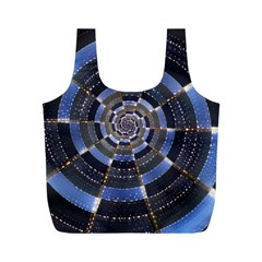 Midnight Crazy Dart Full Print Recycle Bags (m)