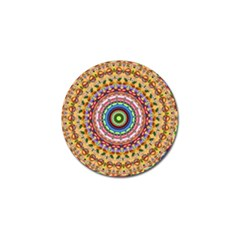 Peaceful Mandala Golf Ball Marker