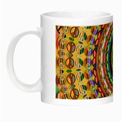 Peaceful Mandala Night Luminous Mugs
