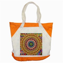Peaceful Mandala Accent Tote Bag