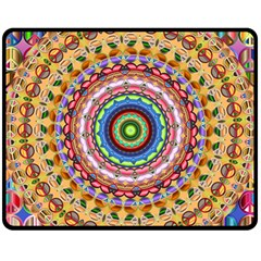 Peaceful Mandala Fleece Blanket (medium)
