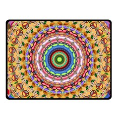 Peaceful Mandala Fleece Blanket (small)