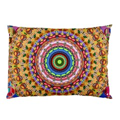 Peaceful Mandala Pillow Case (two Sides)
