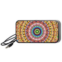 Peaceful Mandala Portable Speaker (black)