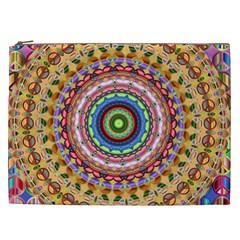 Peaceful Mandala Cosmetic Bag (xxl)