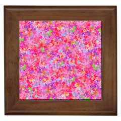The Big Pink Party Framed Tiles