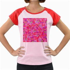 The Big Pink Party Women s Cap Sleeve T Shirt
