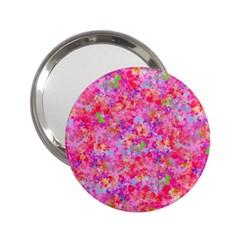 The Big Pink Party 2 25  Handbag Mirrors