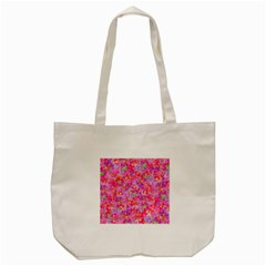 The Big Pink Party Tote Bag (cream)