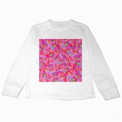 The Big Pink Party Kids Long Sleeve T Shirts