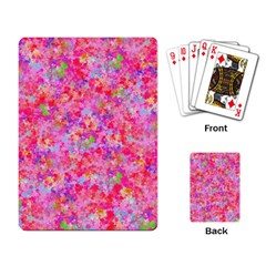 The Big Pink Party Playing Card