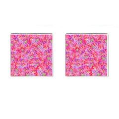 The Big Pink Party Cufflinks (square)