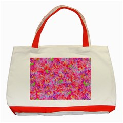 The Big Pink Party Classic Tote Bag (red)