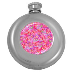 The Big Pink Party Round Hip Flask (5 Oz)