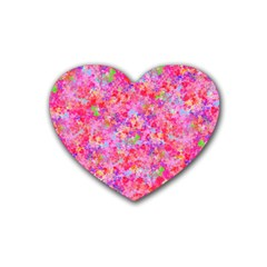 The Big Pink Party Heart Coaster (4 Pack)