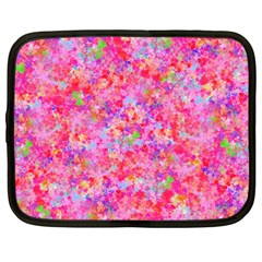 The Big Pink Party Netbook Case (large)