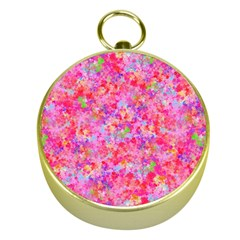 The Big Pink Party Gold Compasses