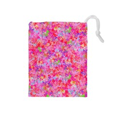 The Big Pink Party Drawstring Pouches (medium)
